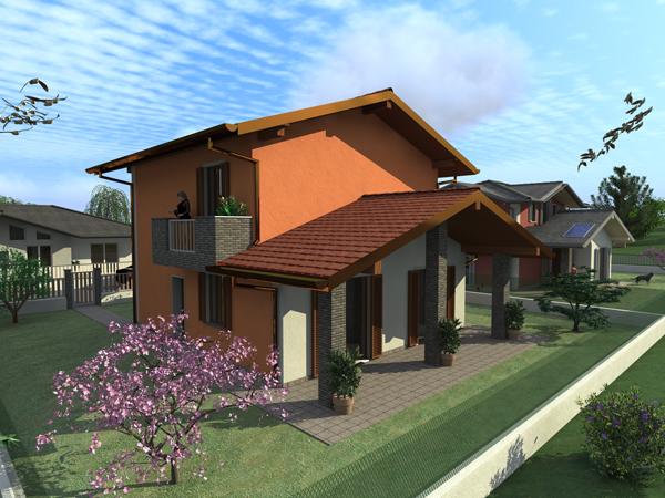 Villa iris for Casa a 4 piani