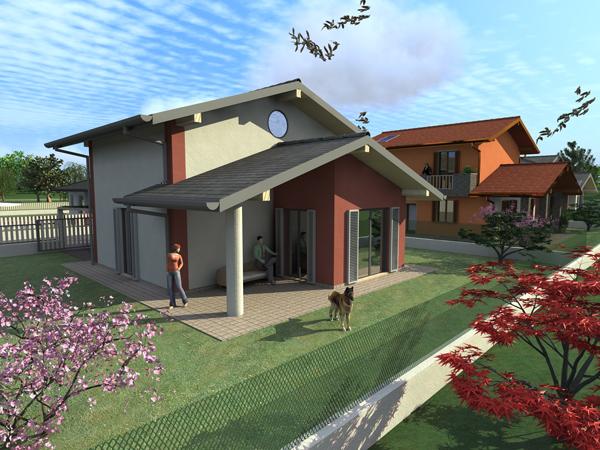 Villa kira for Casa moderna senza tetto
